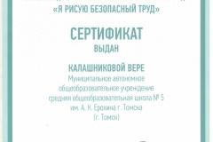 Калашникова Вера ОТ